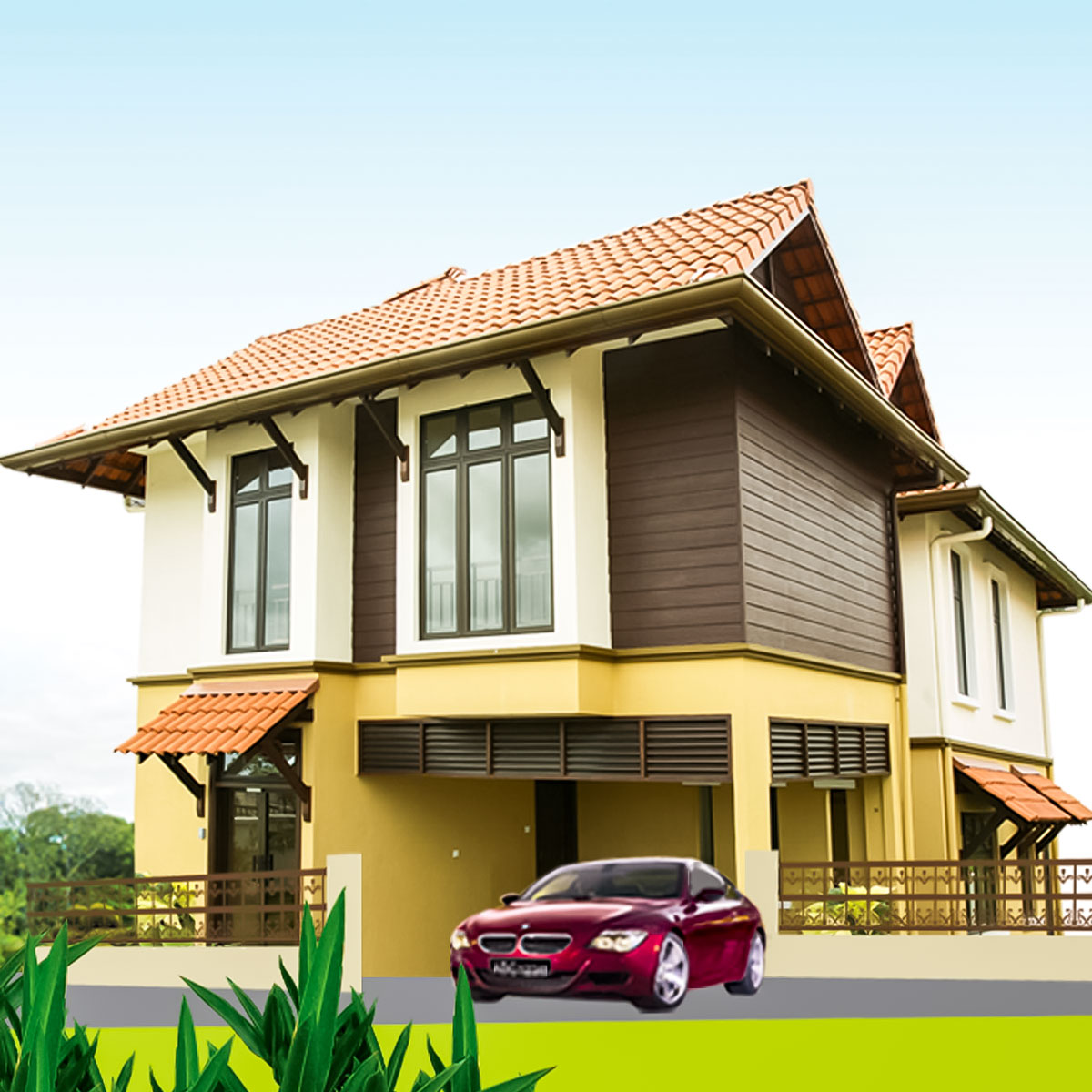 Subang alam homes section 27 shah alam crystalville for Two storey bungalow