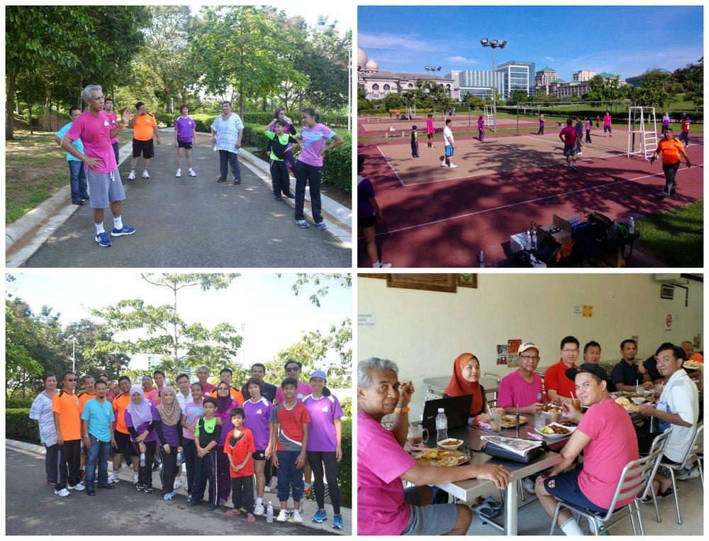 CrystalVille - staff meeting and volleyball in Putrajaya
