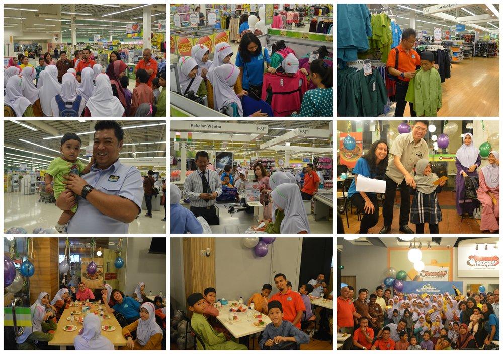 Crystallville - shopping with rumah Nur Kasih, Segambut Kuala Lumpur 2014